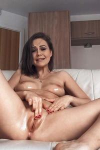 Tina Kay Has Her Dildo All Up Her Tight Little Pussy