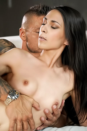 Black Haired Ashely Ocean Getting Drilled