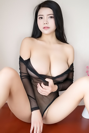 'Sheer Bodysuit' with Mieko via All Gravure