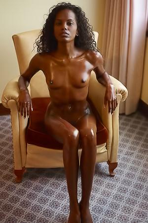 Naked sexy brown girl